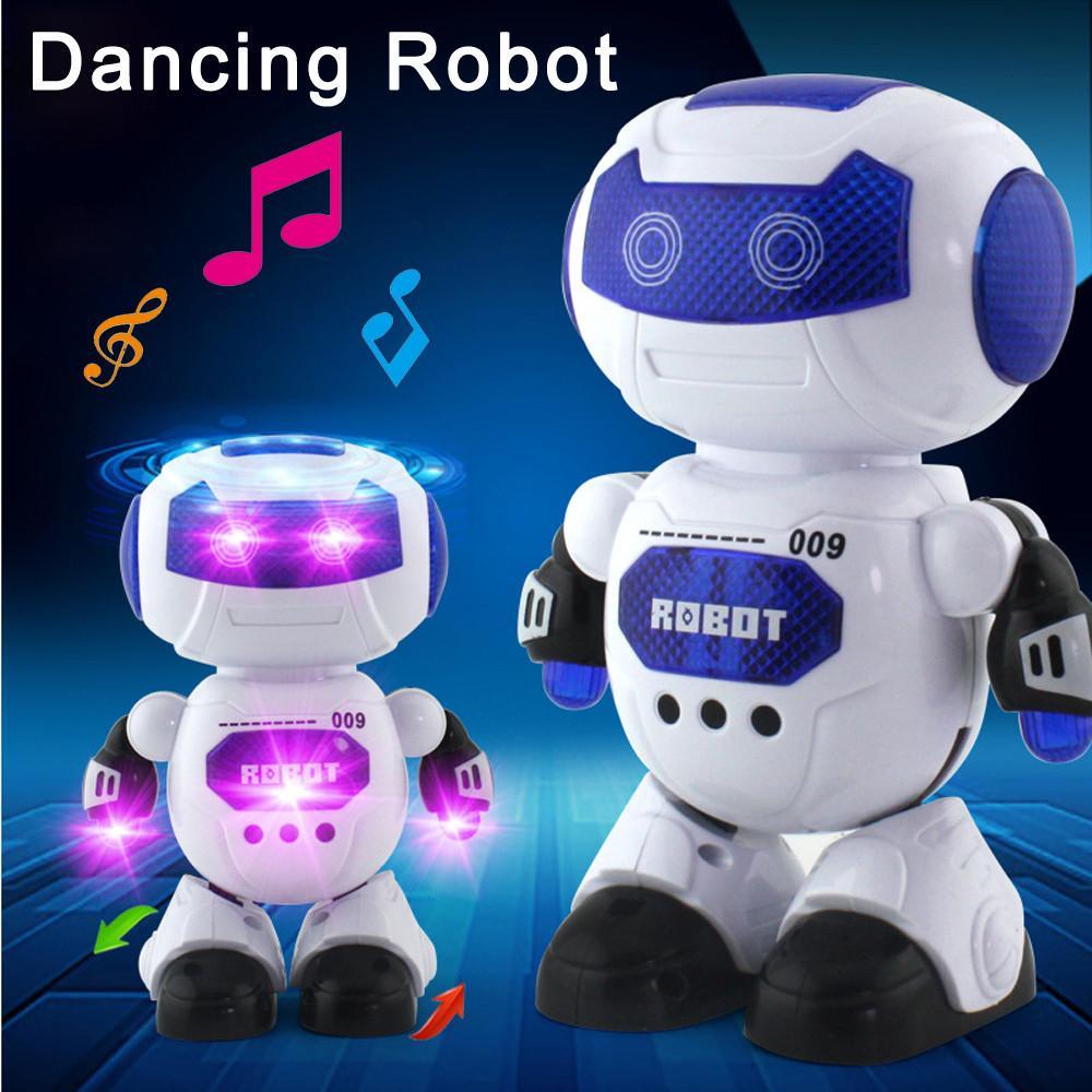 Elektronik Robot Menari dengan Musik dan Robot Belajar Menyenangkan Mainan untuk Anak-anak