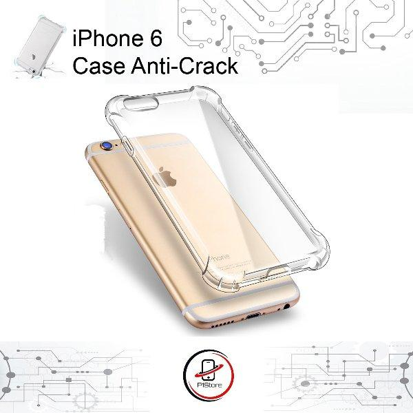 Case Anti Shock / Anti Crack Elegant Softcase For Apple iPhone 6 / 6S  White Clear - YG0709