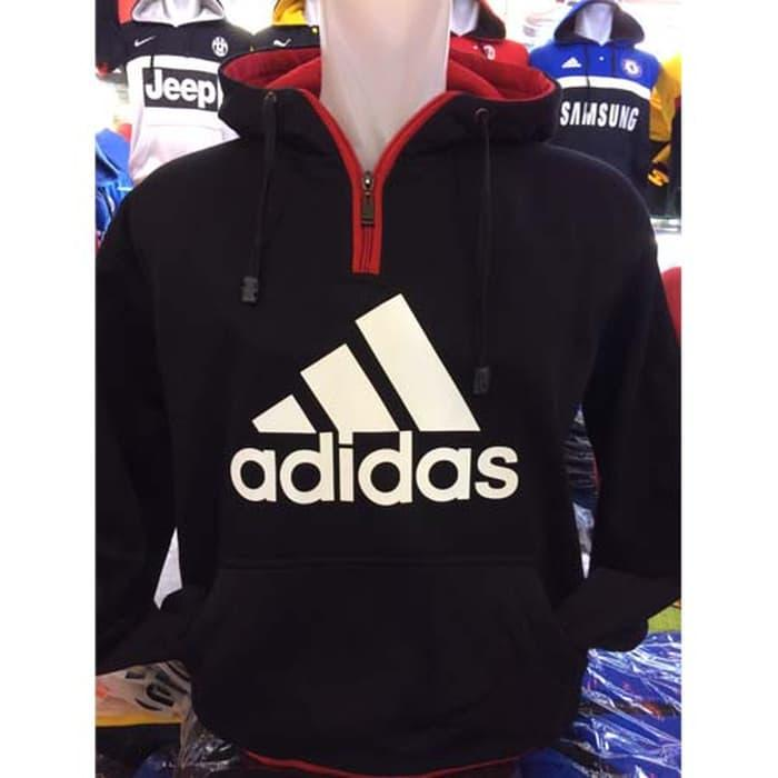 Hoodie ADIDAS 2 Jaket Bola Futsal Flanel Kaos Sepatu Jogger Anak