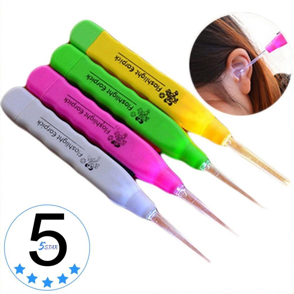 Buy Sell Cheapest Opoopv Korek Kuping Best Quality Product Deals Led Pembersih Telinga Earpick Nyala Lampu Anak 5star Flashlight 1 Pcs