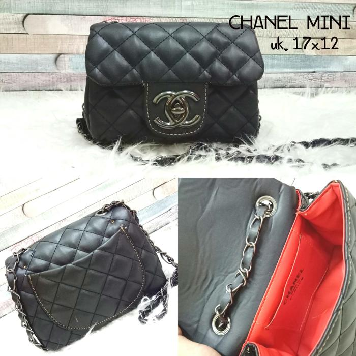 Super Hot! Indoshopi tas lokal chanel mini Murah!