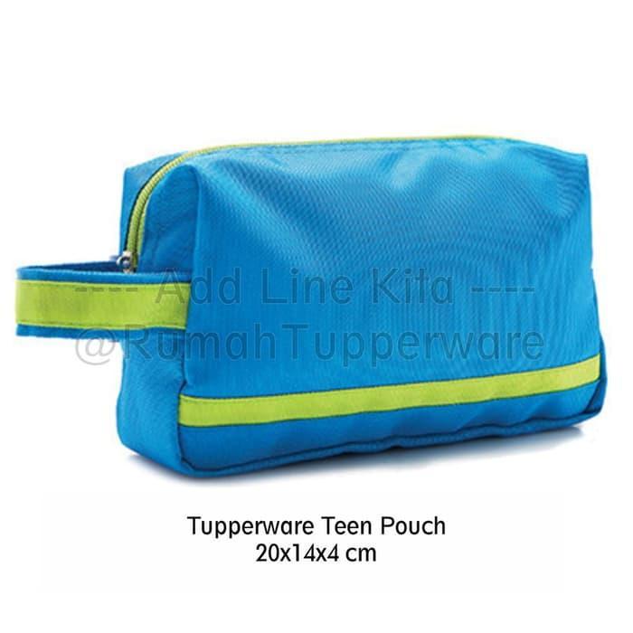 Hemat 10%!! Tuperwer Teen Pouch Replika Tas Bekal Dan Olahraga - ready stock