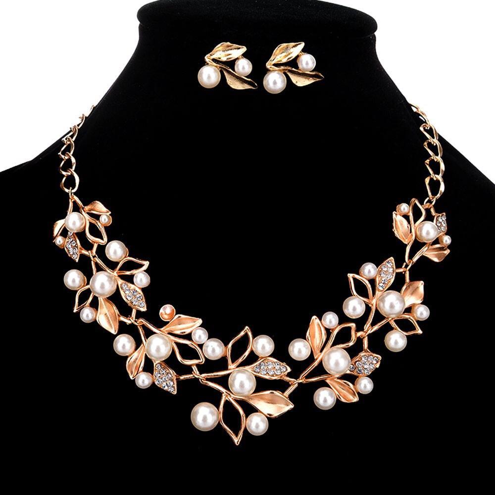Buy Sell Cheapest Kalung Set Mutiara Best Quality Product Deals 1 Perhiasan Wanita Cannies Romance Dan Anting Dengan Hiasan Buatan