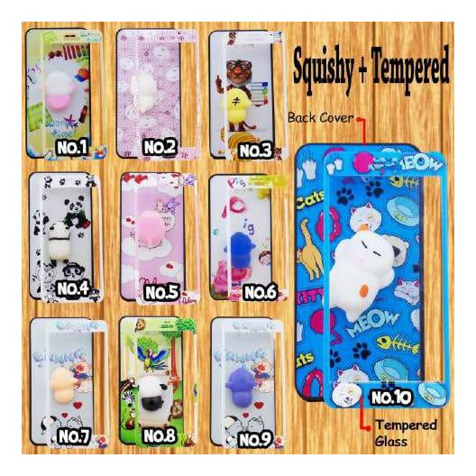 Anton_Shop-Softcase Squishy Case Karakter OPPO A37/NEO 9 (RANDOM) FREE TEMPERED