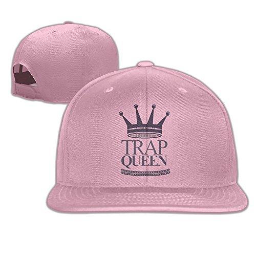 Fetty Wap Trap Queen Hip-Hop Song Adjustable Adult Baseball Cap Flat Cap
