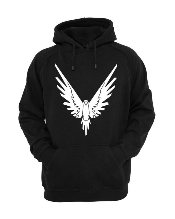 PROMO !! Jaket Hoodie BTS Logan Paul Maverick - Black