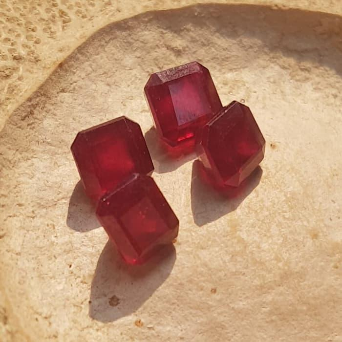 Diskon Promo Cincin Natural Ruby Red Mozambique Like Burma Kotak Mewah By Natural Gemshop.