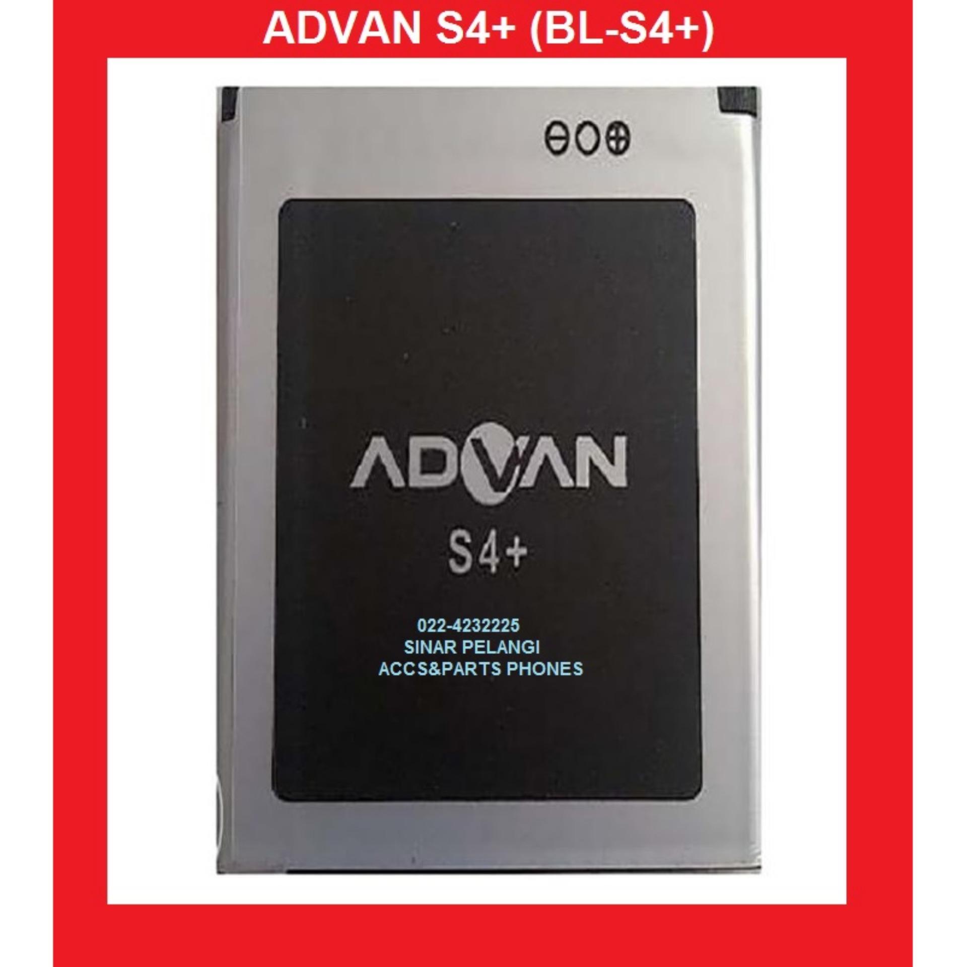 Beli Batre Advan S4 Store Marwanto606 S4z Baterai 1300mah Battery Replacement Batu Pengganti 902586