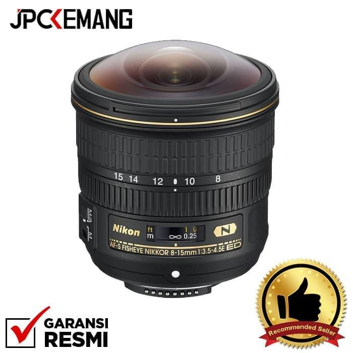 Nikon AF-S Fisheye NIKKOR 8-15mm f/3.5-4.5E ED jpckemang GARANSI RESMI