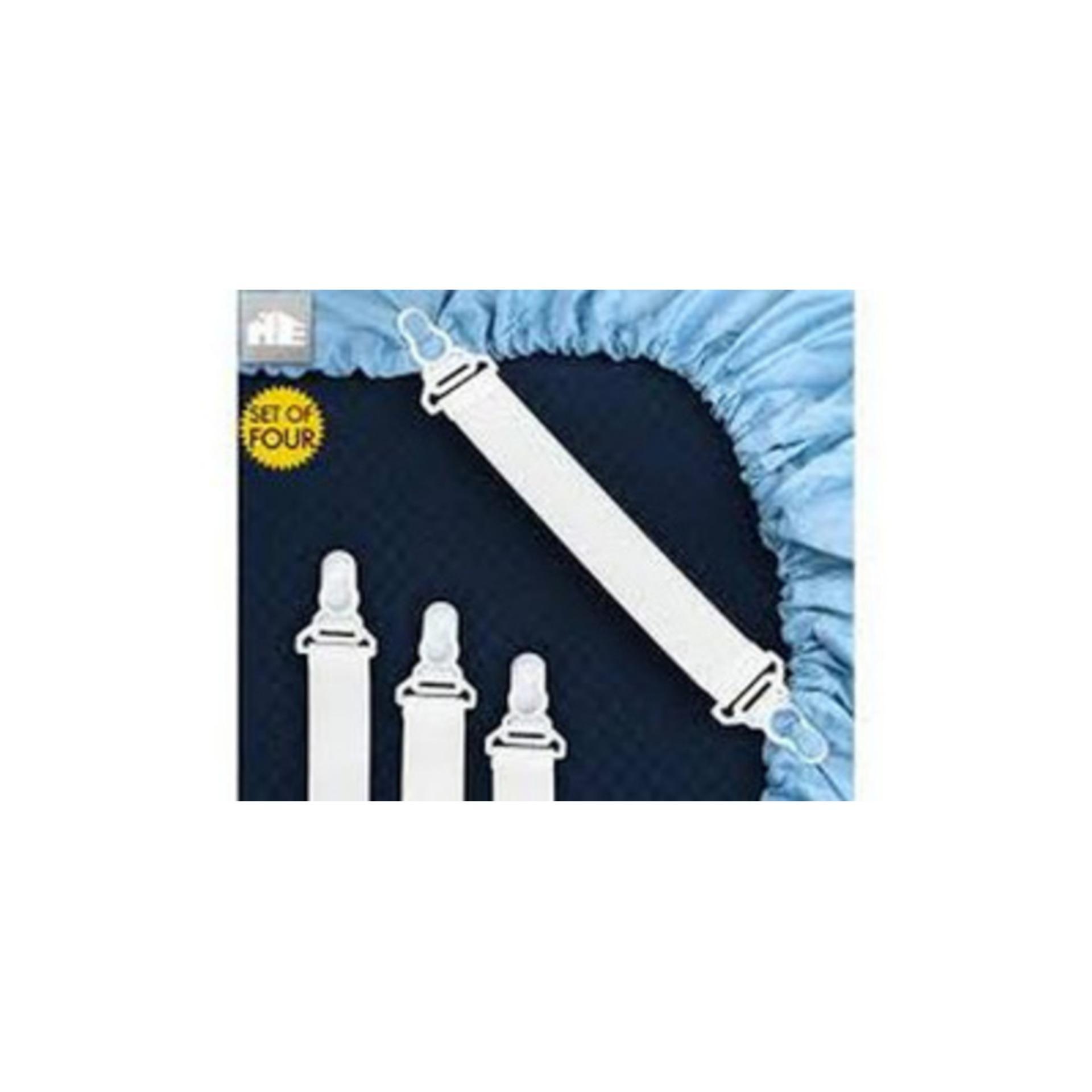 GRCS - Sheet Grippers 4 pcs  pengait ujung sprei