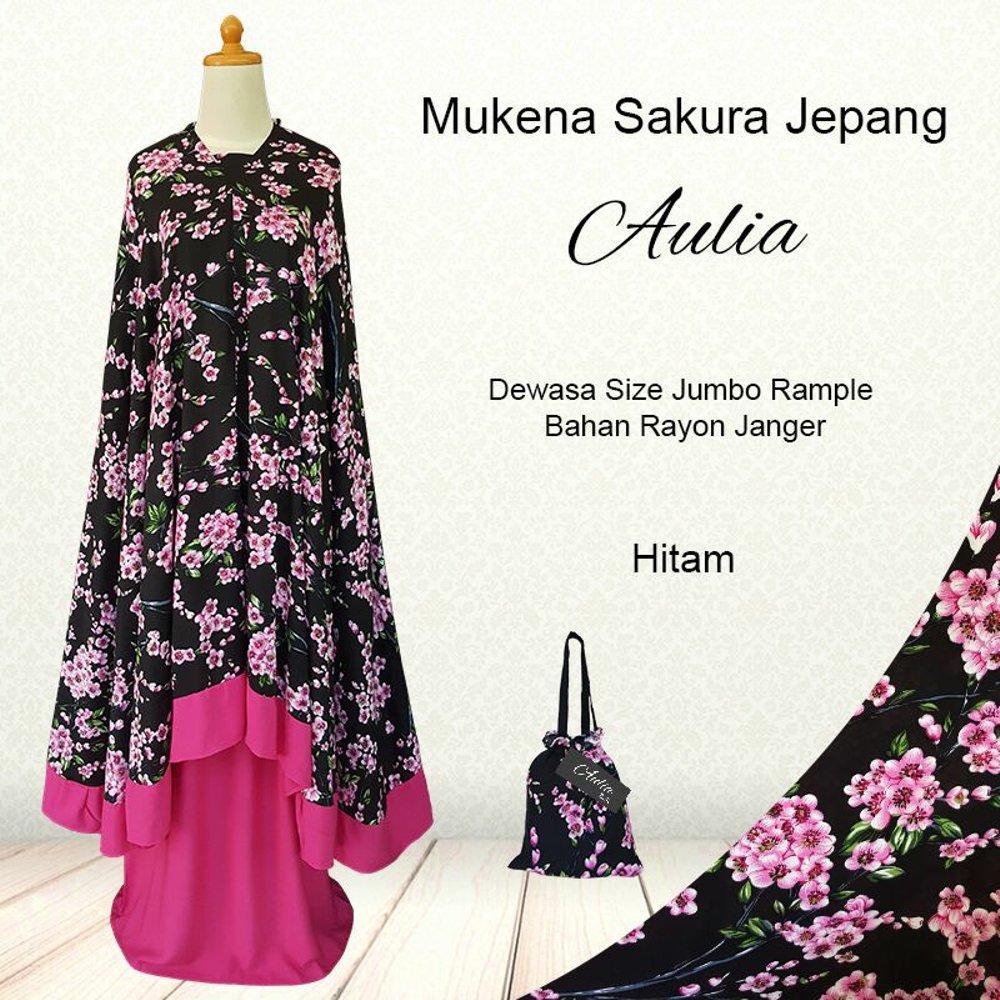 Mukena Dewasa Fashion Mukenah Muslimah Rayon Bali Mukena Bali Jumbo Rempel Sakura Jepang Perlengkapan Shalat Para Muslimah - Rukoh Muslim Dewasa Murah Perlengkapan Beribadah Agama Islam -