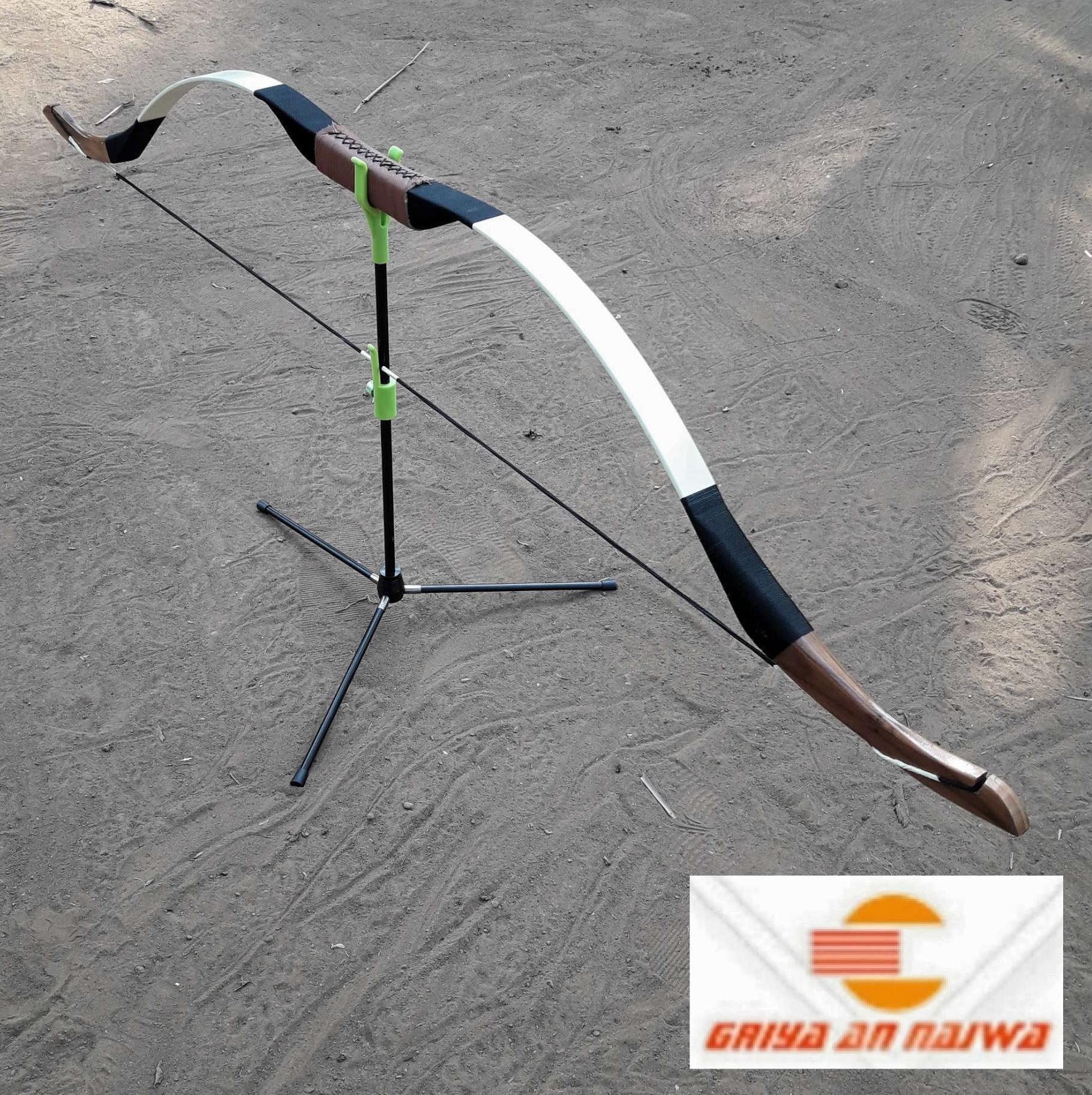 Jual Perlengkapan Panahan Bow Stand Elong Tripod Dudukan Busur Panah Horsebow New Garansi