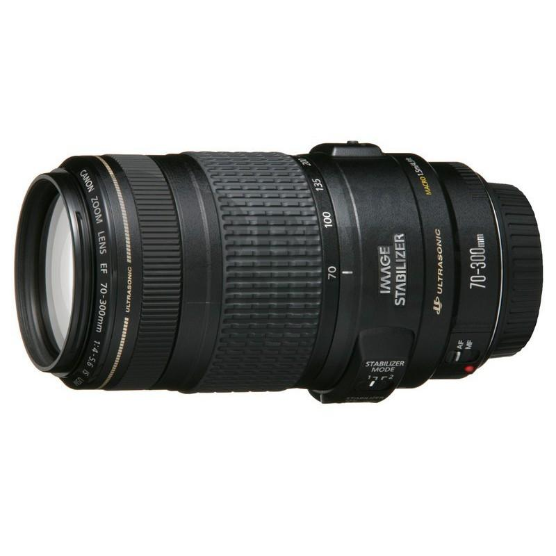 Canon Lens EF 70-300mm f/4-5.6 IS II USM