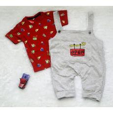 All Size 0-6 Bulan / Setelan Jumpsuit Baju Bayi Anak - Celana Kodok OPEN