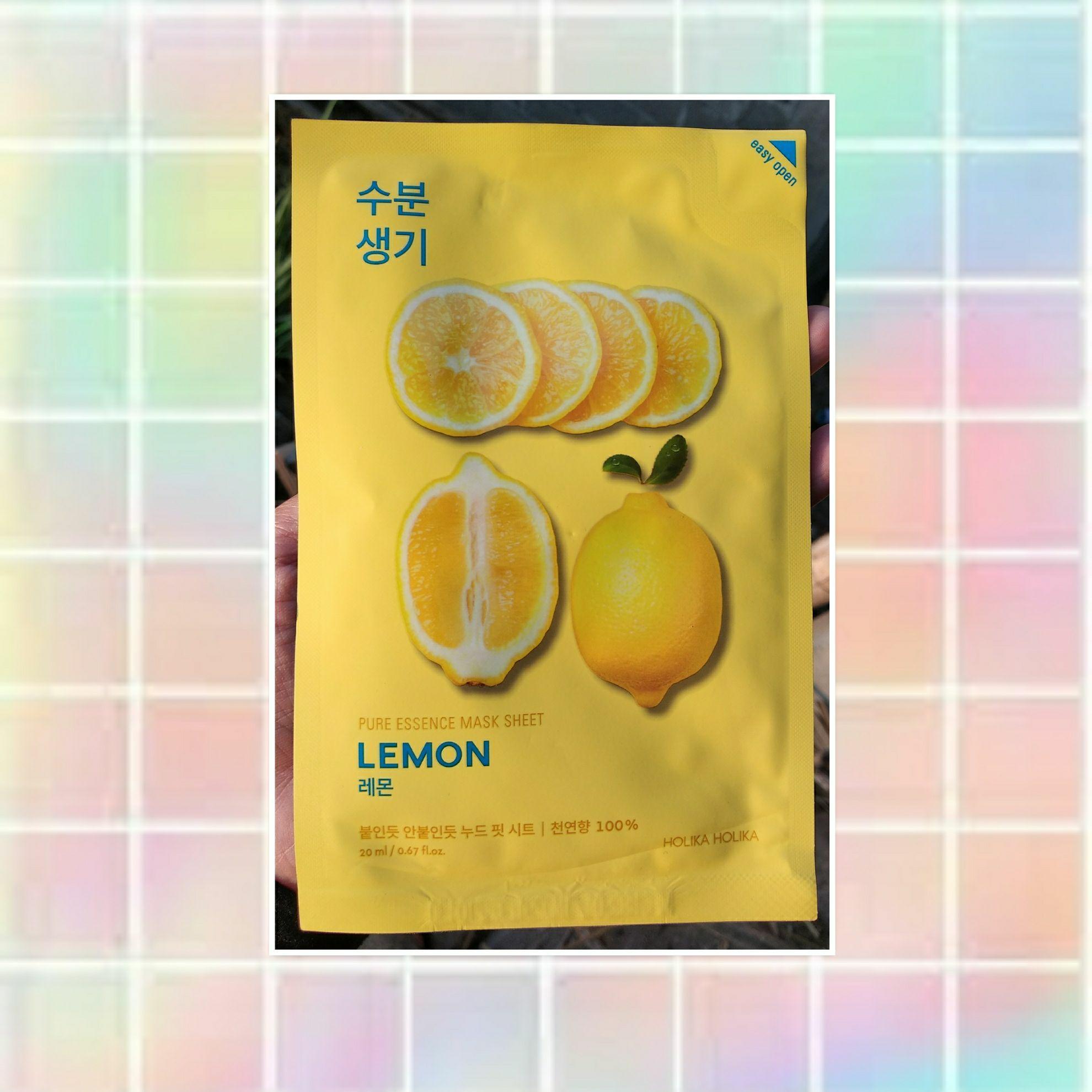 Jual Produk Holika Terbaru Di 5 Pure Essence Mask Sheet Pearl Hokika Lemon