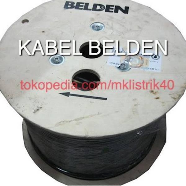 BEST SELLER Kabel Coaxial BELDEN RG6 9116S ORIGINAL Untuk Antena TV & CCTV