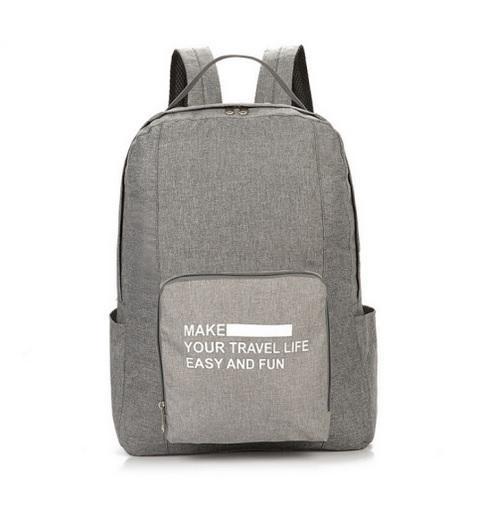PREMIUM Tas Ransel Lipat Foldable Backpack Impor