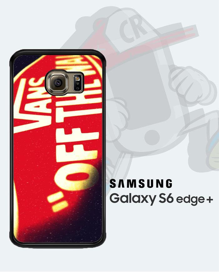Casing Custom  Case Cover Hard Case SAMSUNG Galaxy S6 Edge Vans Original Case