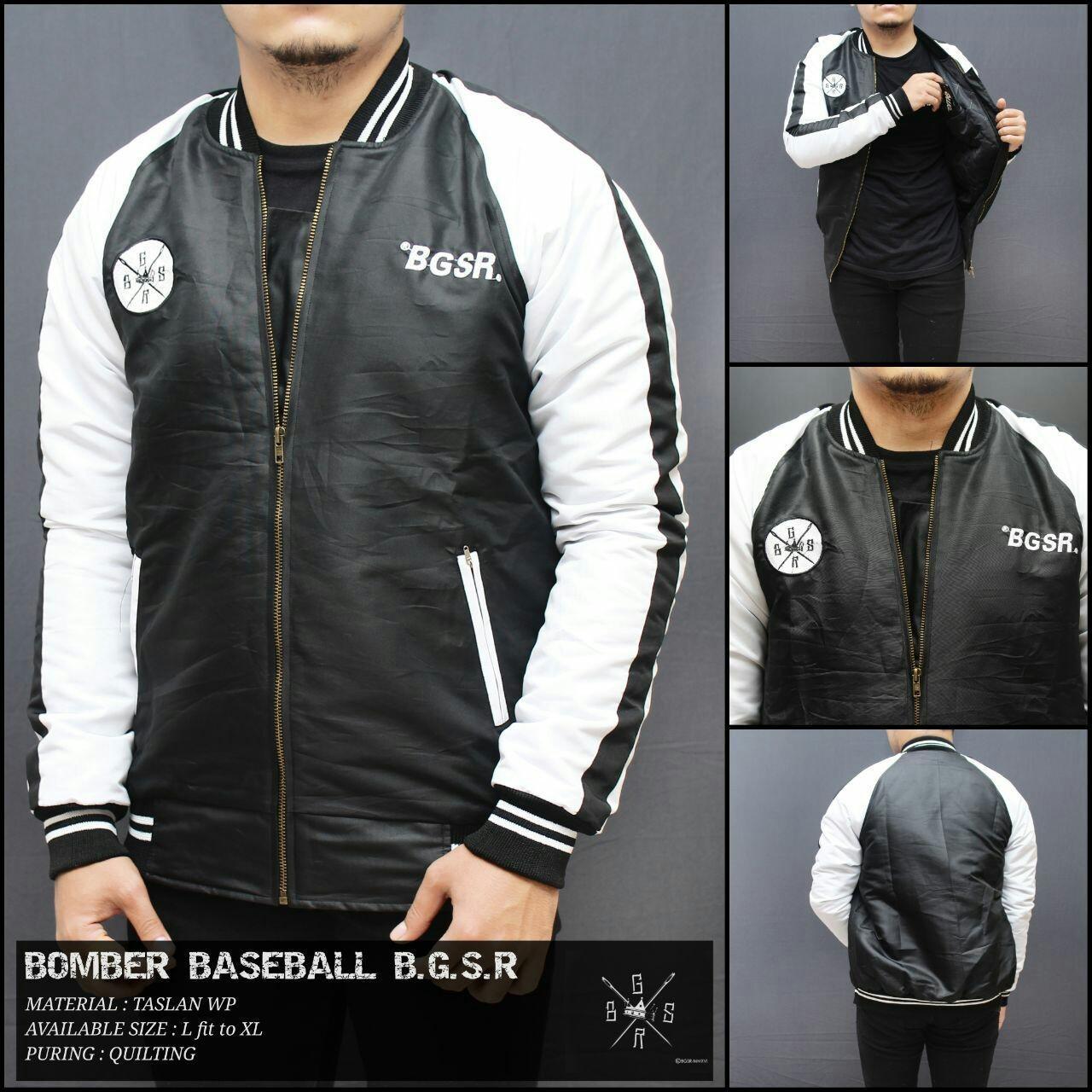 Atta Clothing / fashion pria / pakaian pria / jaket dan mantel pria / jaket pria / jaket bomber / jaket bomber baseball bgsr best seller