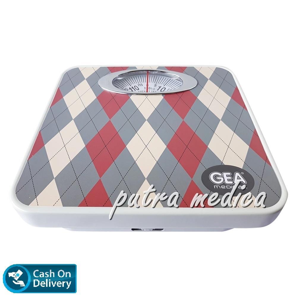 Putra Medica Gea Timbangan Badan BR9015B [Sweater Color] / Timbangan Injak Alat Ukur Pengukur Berat Badan