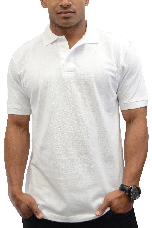 Kaos Polo / Polo Lacoste / Polo Shirt Cotton Pique - Putih