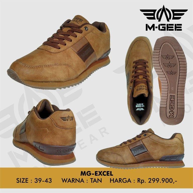 MGEE MG-Excel Tan - Sepatu Hiking - Sepatu Gunung - Sepatu Pria - Sepatu e6d36a2237
