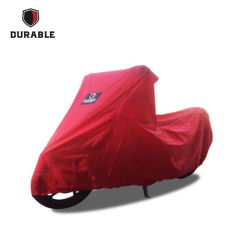 KAWASAKI KLX 150 DURABLE Motor Cover/Selimut-Red