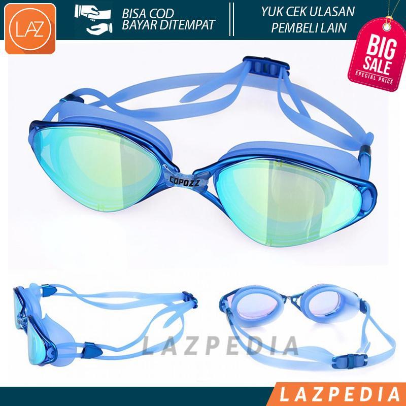 Laz COD - Kacamata Renang Anti Fog UV Protection GOG-3550 Dapat di Gunakan Untuk Berenang Ataupun Menyelam & Dapat Terlihat Jelas Meskipun di Dalam Air - Lazpedia A68