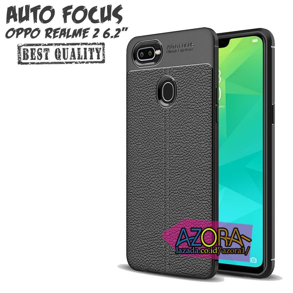 Case Auto Focus Oppo REALME 2 Biasa ( 6.2 inch ) Leather Experience Slim Ultimate
