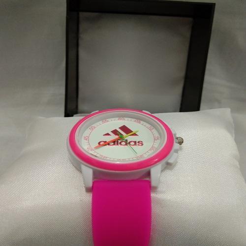 Jam tangan anak nak adidas terbaru pink casual