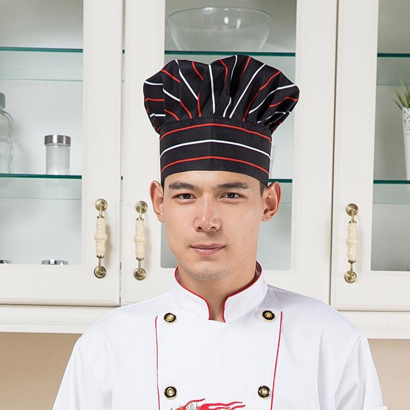 Hotel Dapur Kerja Topi Topi Jamur Topi Koki Topi Putih Topi Kain ... e4cd89562d