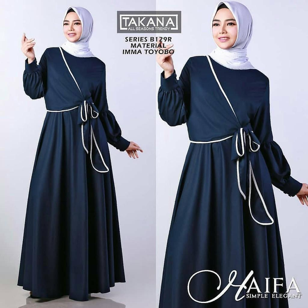 JAKARTA GROSIR -  HAIFA dress balotelly st Fashion Dress / Atasan / Tunik / size M, L dan XL