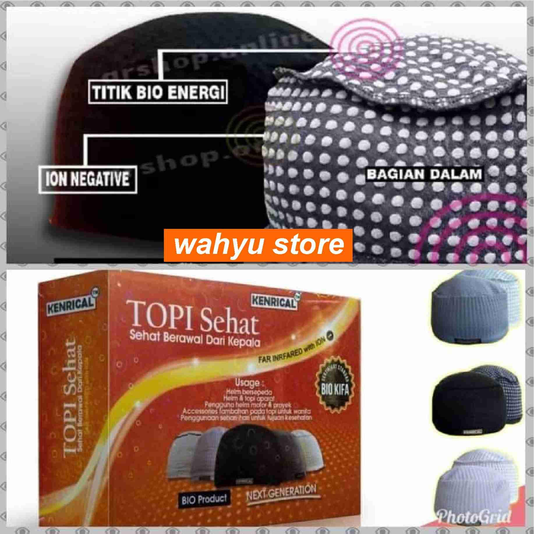 Buy Sell Cheapest Topi Bekerja Kesehatan Best Quality Product Highlight Plastik Sehat Kenrical Peci Terapi