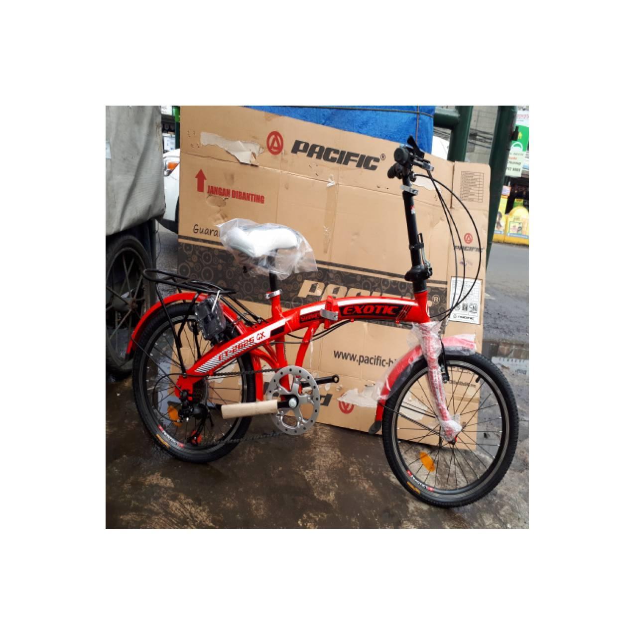 Sepeda 20 Lipat Exotic New 2018 2625Gx