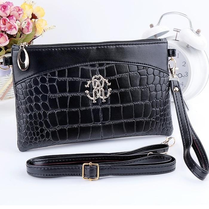 BEST SELLER!!! Tas Dompet wanita slempang import pouch wallet fashion premium korea -