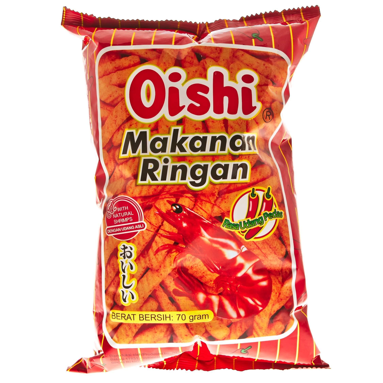 Oishi Kraker Udang Pedas 70g