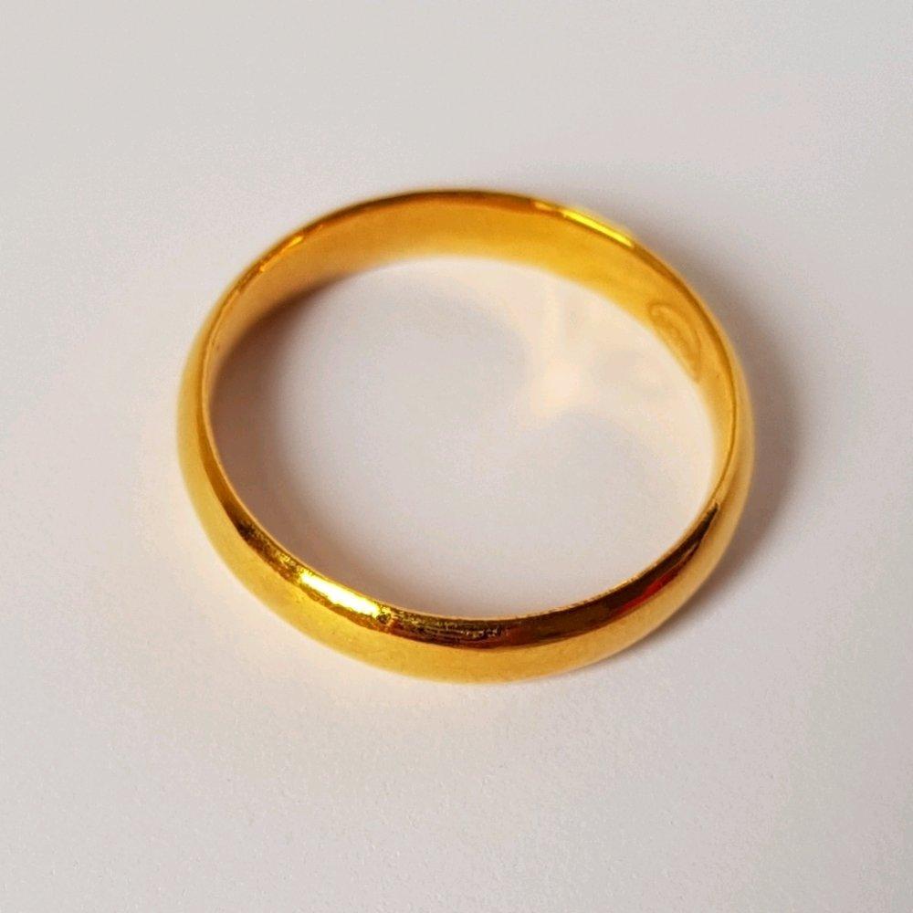 Jual Cincin Emas Karat Wanita Terlengkap Rose Ring Berlian Perhiasan Kawin Asli Kadar 700 Polos Ukuran 155 Pernikahan Tunangan Istimewa