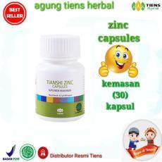 Zinc Tiens - Penggemuk Badan / Solusi Nafsu Makan dan Hormon Alami / Tanpa Efek Samping