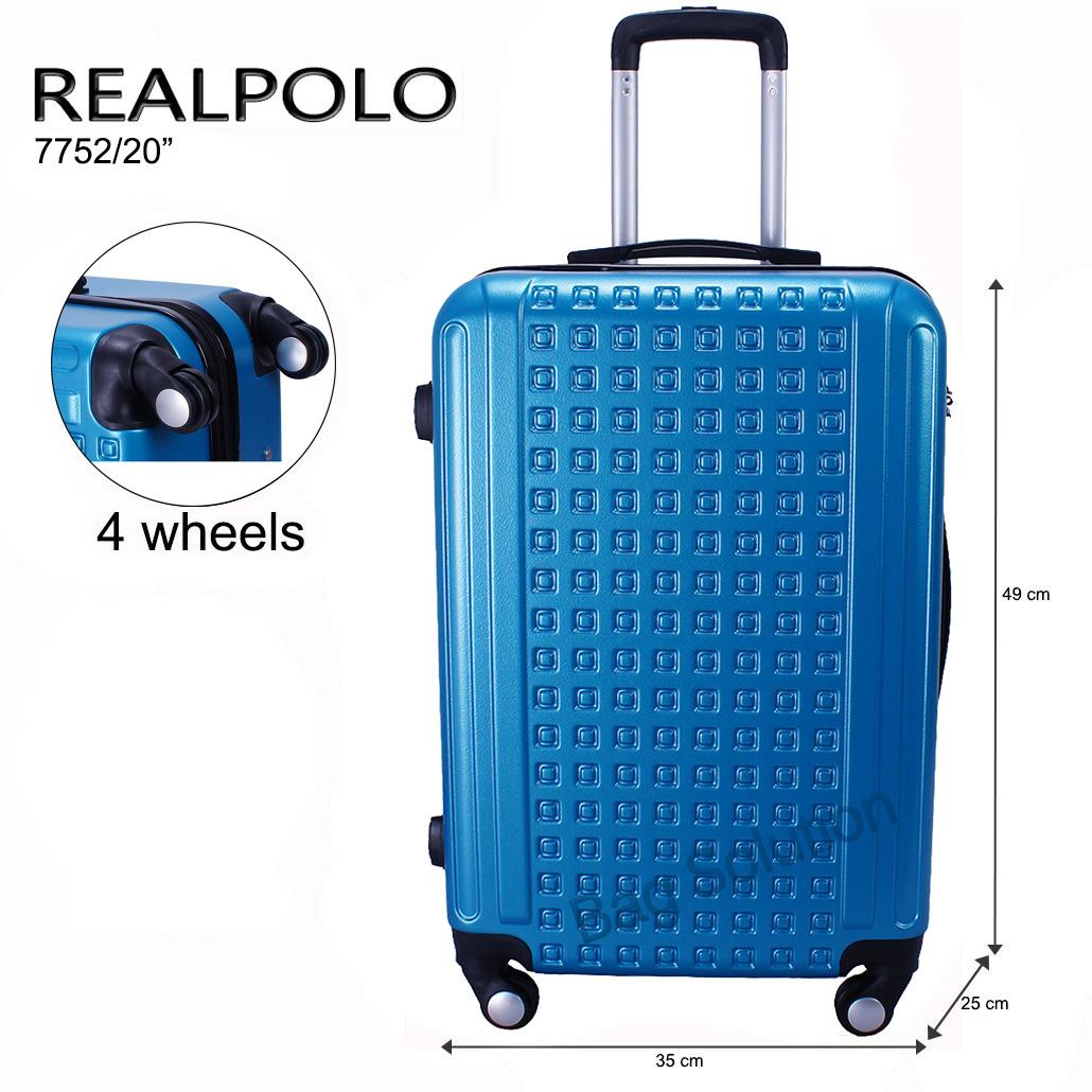 The Cheapest Price Koper Fiber Polo Expley Hardcase Luggage 20 Inchi Roda 4 Hard Case Size Inch Real Tas Abs Putar Ggeb