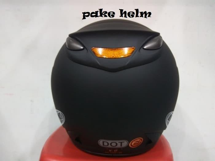 Best Seller HELM INK CENTRO JET SOLID HITAM DOFF 100% ORIGINAL
