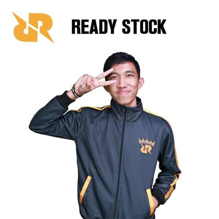 DISKON Official Jaket Team RRQ No Custom TERMURAH