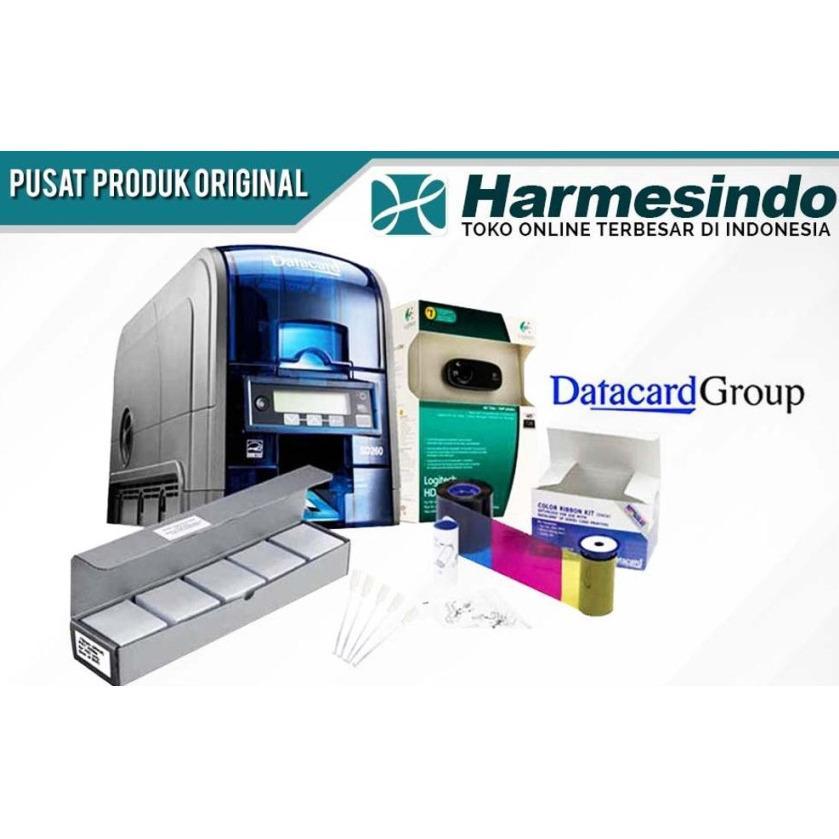 PRINTER ID CARD SD260 MESIN CETAK KARTU ATM E-KTP SIM - Peralatan Buat Kartu PVC Plastik Anggota Member Pelajar Mahasiswa