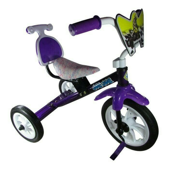 Sepeda bmx roda tiga anak Tricycle sandaran yoe yoe warna
