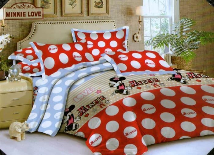 PALING DICARI Bedcover Endless Love ukuran 120x200 - Minnie Love TERLARIS