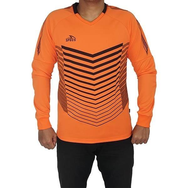Specs Jersey Kiper Guardian Gk Jersey Ls - Sulphur Orange Black By Futsalmarketid.