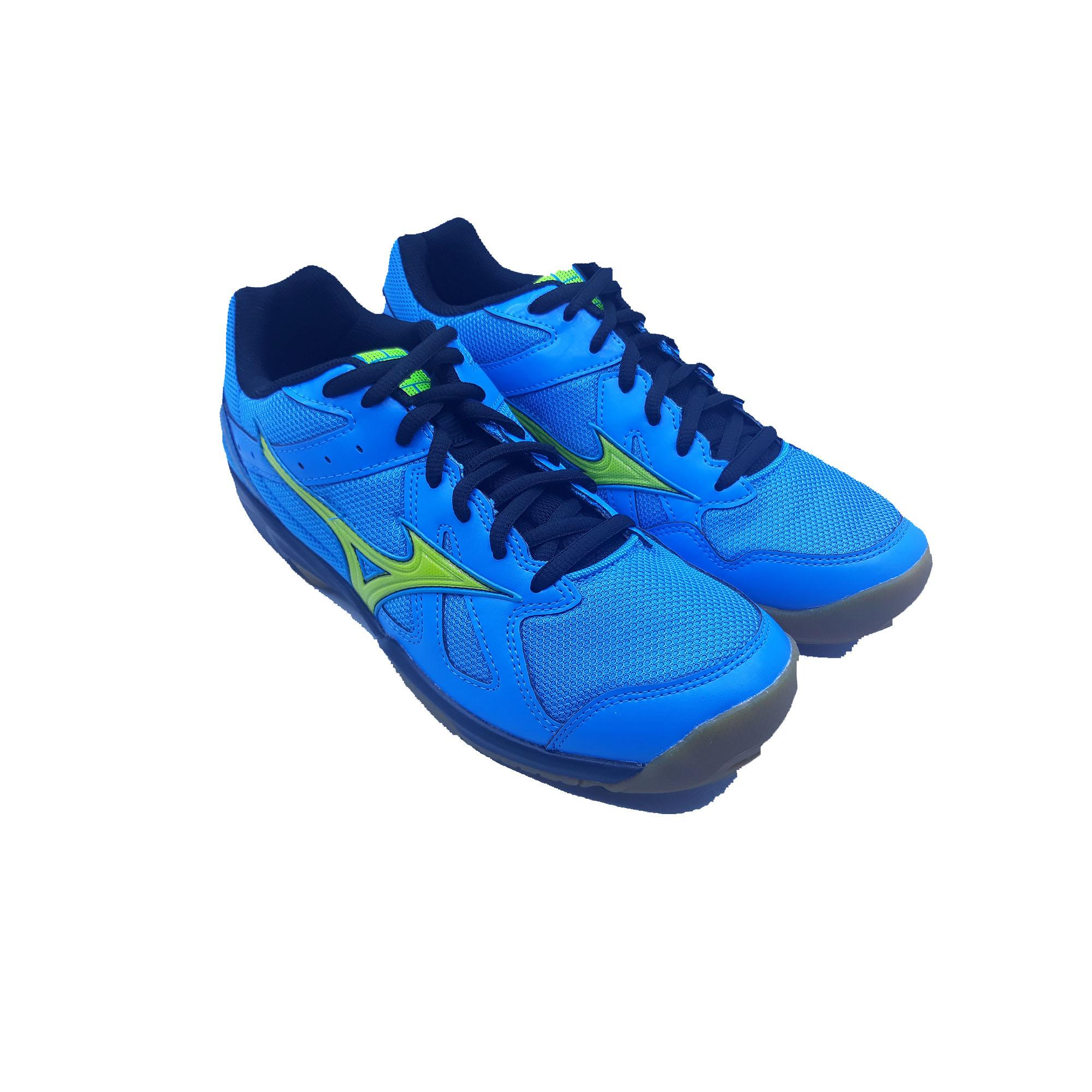 Sepatu Voli Mizuno Cyclone Speed - Blue Yellow Black 0f8c3237f0