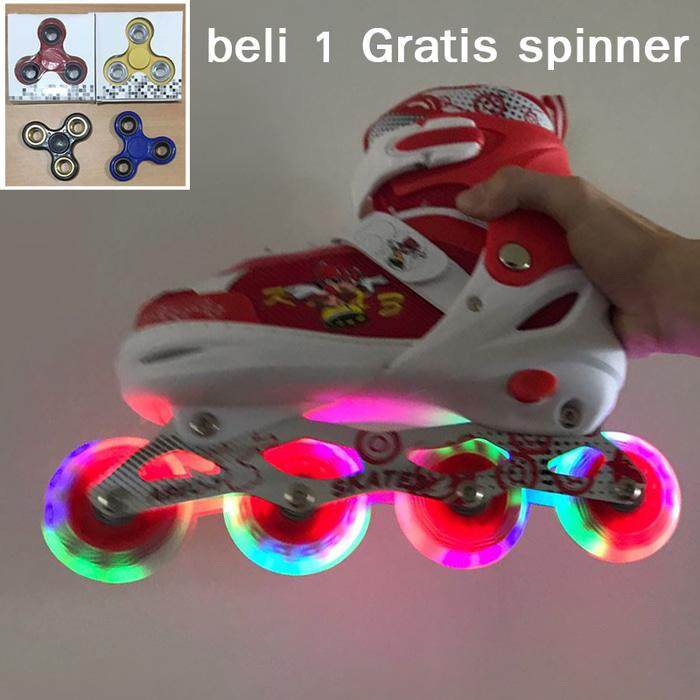 Promo!! Sepatu Roda Anak Inline Skate Power Superb Model Bajaj Semua Rod - ready stock