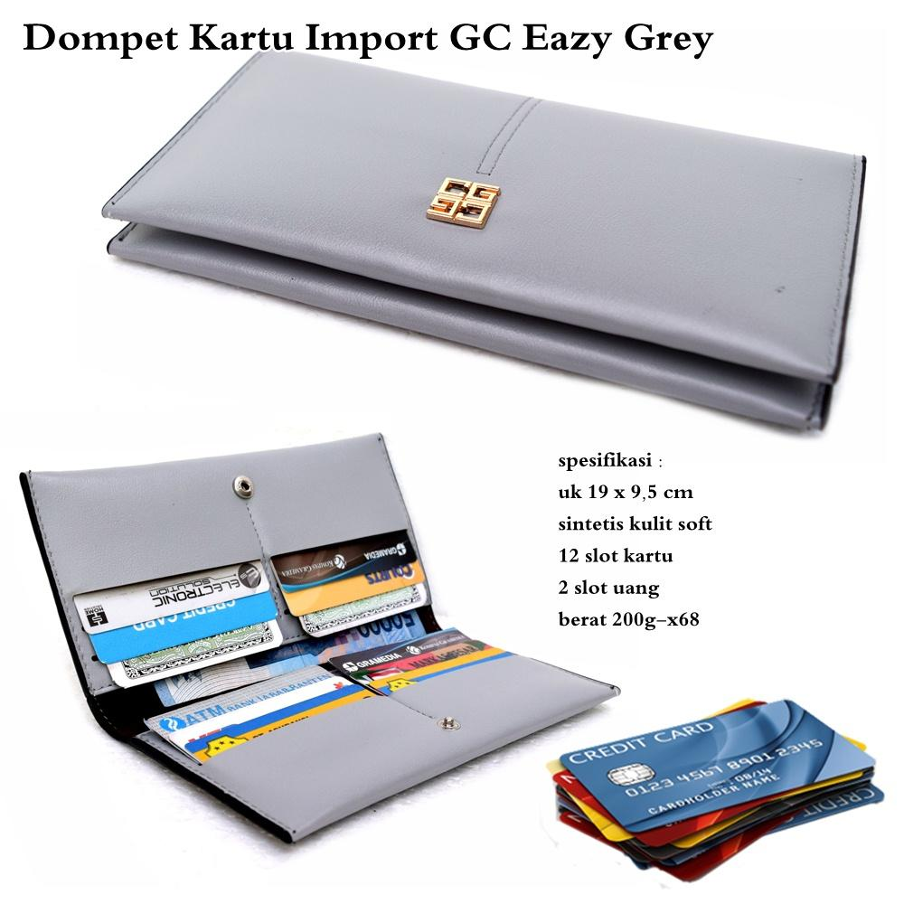 Buy Sell Cheapest Dompet Kartu Impor Best Quality Product Deals Card Holder Kulit Import Wanita Multifungsi Gc Eazy