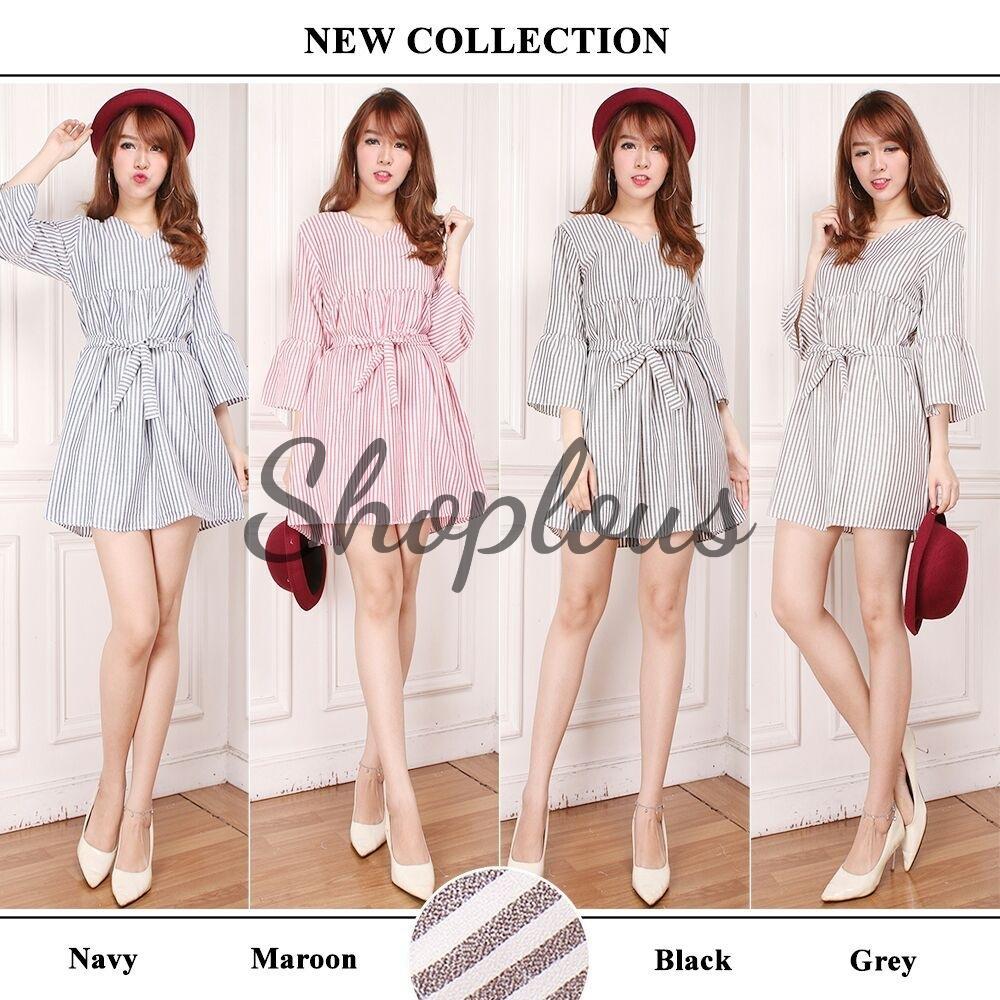 Shoplous Alea Dress ( New Model) / Kemeja Dress / Kardigan / Tunik / Atasan Wanita / Dress Wanita / Blouse Jumbo / Dress Jumbo / Dress Muslim / Blazer Jumbo / Baju Kerja / Syari / Gamis / Baju Koko / Jumpsuit / Outer / Cardigan