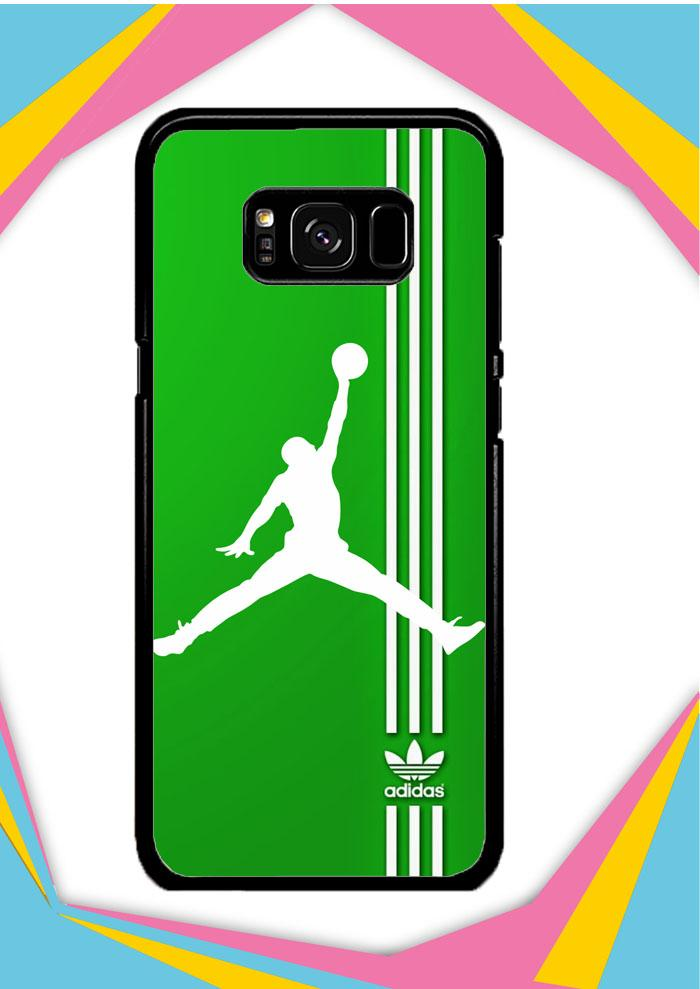 Casing Samsung Galaxy S8 Plus Custom Hardcase Adidas Logo Air Jordan X3125 Case Cover